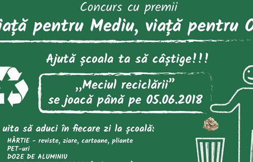Campania VIAȚĂ PENTRU MEDIU, VIAȚĂ PENTRU OM