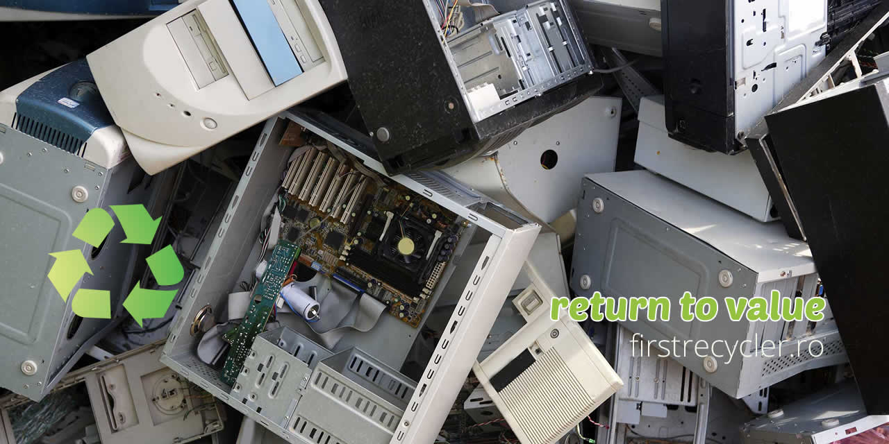 FIRST RECYCLER - operator autorizat sa colecteze DEEE - Solutii de reciclare deseuri - Craiova, Targu Jiu, Turceni