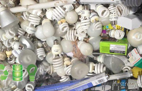 FIRST RECYCLER reciclează deşeuri iluminat, baterii şi alte DEEE