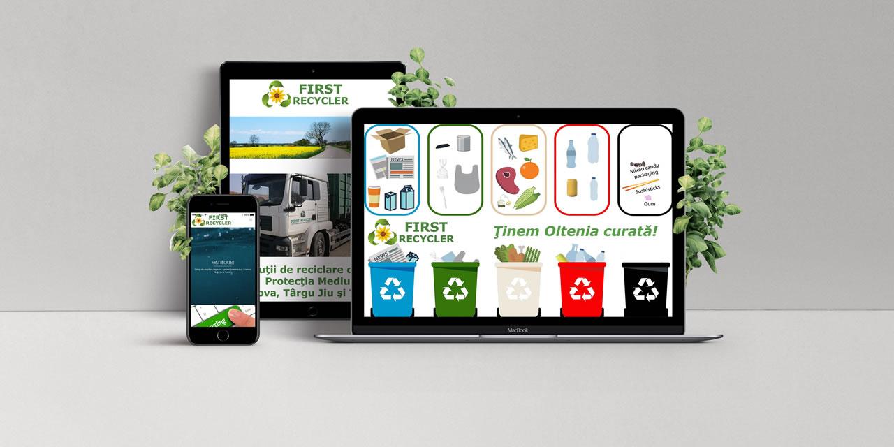 despre First Recycler 00 - Solutii de reciclare deseuri - servicii managementul deseurilor