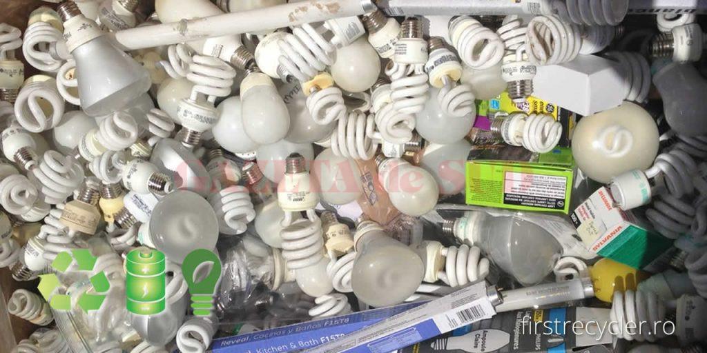 colectare-reciclare corpuri iluminat - gds - echipamente electrice electronice DEEE